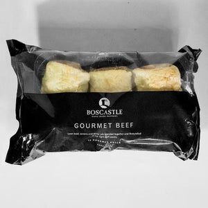 Boscastle Party Sausage Rolls -  Gourmet Beef - pack of 12 (frozen) - Rosalie Gourmet Market