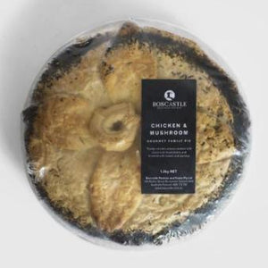 Boscastle Family Pie -  Chicken & Mushroom (frozen) - Rosalie Gourmet Market