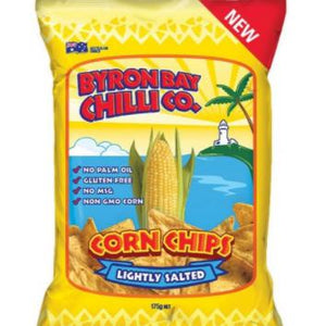Byron Bay Chilli Co - Lightly Salted Corn Chips 175g - Rosalie Gourmet Market
