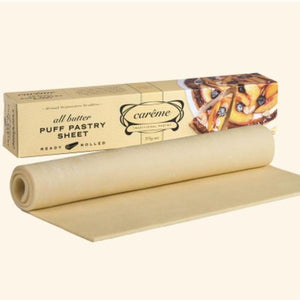 Careme Butter Puff Pastry 375g (ready rolled sheet) - Rosalie Gourmet Market