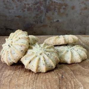 Crooked Creek Biscuits - Lime & Lady Grey Tea 125g - Rosalie Gourmet Market