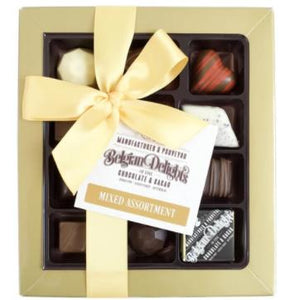 Belgian Delights Chocolate Assortment Box - Mixed (15pc) - Rosalie Gourmet Market