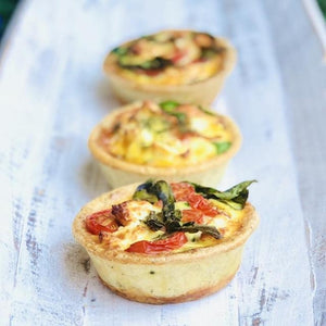 Individual Quiche - Smoked Salmon (approx 10cm diameter) - Rosalie Gourmet Market