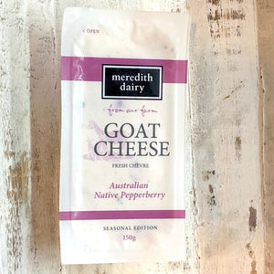 Meredith Dairy Goat Cheese - Pepperberry 150g - Rosalie Gourmet Market