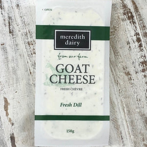 Meredith Dairy Goat Cheese - Fresh Dill 150g - Rosalie Gourmet Market