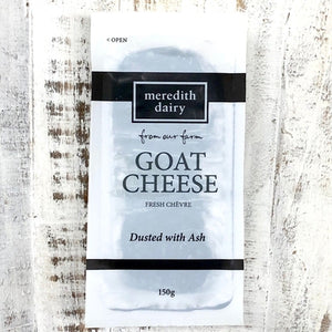Meredith Dairy Goat Cheese - Ashed 150g - Rosalie Gourmet Market