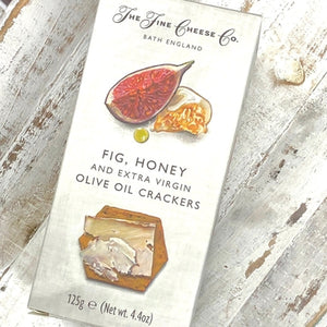 Fine Cheese Co Fig & Honey Crackers 125g - Rosalie Gourmet Market