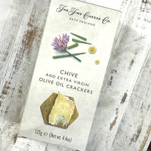 Fine Cheese Co Chive Crackers 125g - Rosalie Gourmet Market