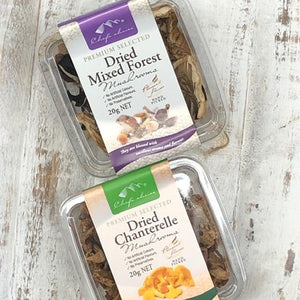 Chef's Choice Dried Mixed Chanterelle Mushrooms 20g - Rosalie Gourmet Market