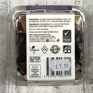 Chef's Choice Dried Mixed Forest Mushrooms 20g - Rosalie Gourmet Market