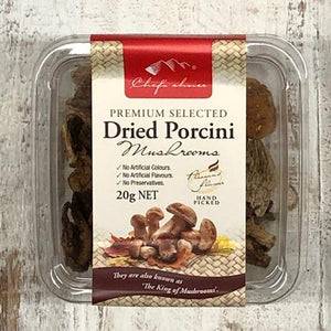 Chef's Choice Dried Porcini Mushrooms 20g - Rosalie Gourmet Market