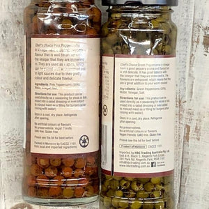 Chef's Choice Green Peppercorns in Vinegar 110g - Rosalie Gourmet Market