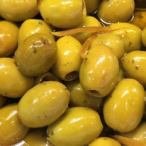 Moroccan Green Olives (pitted) - Rosalie Gourmet Market