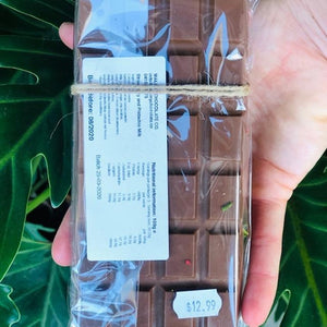 Maleny Chocolate Co - Strawberry & Pistachio Milk 100g - Rosalie Gourmet Market