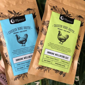 Chicken Bone Broth Powder (Original) - Nutra Organics 100g - Rosalie Gourmet Market