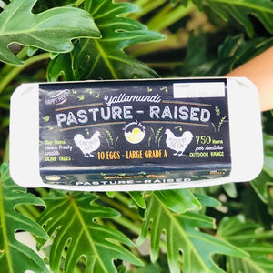 Eggs - Yallamundi Pasture-Raised (10 eggs) - Rosalie Gourmet Market