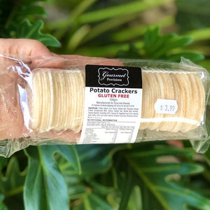 Gluten Free Potato Crackers Wafer Thins 100g - Rosalie Gourmet Market