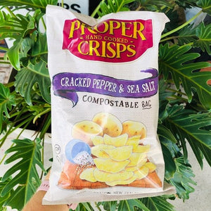 Proper Crisps - Cracked Pepper & Sea Salt 150g - Rosalie Gourmet Market