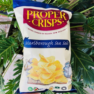 Proper Crisps - Marlborough Sea Salt 150g - Rosalie Gourmet Market