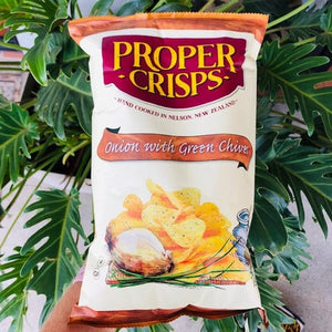 Proper Crisps - Onion with Green Chives 150g - Rosalie Gourmet Market