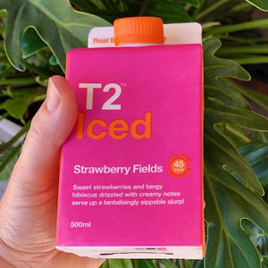 T2 Iced Tea - Strawberry Fields 500ml - Rosalie Gourmet Market