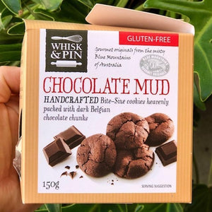 Whisk & Pin - GF Chocolate Mud Bite Size Cookies 150g - Rosalie Gourmet Market