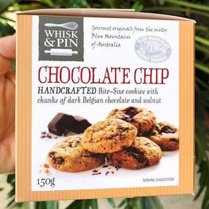 Whisk & Pin - Chocolate Chip Bite Size Cookies 150g - Rosalie Gourmet Market