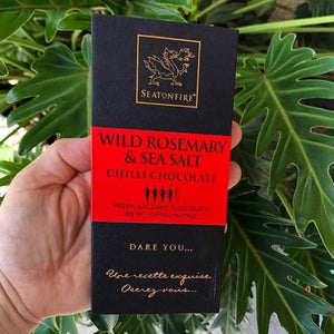 Seatonfire - Wild Rosemary & Sea Salt Chilli Chocolate 80g - Rosalie Gourmet Market