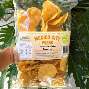 Mexico City Foods - Tortilla Chips - Natural 180g - Rosalie Gourmet Market