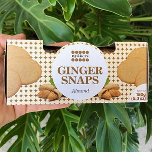Nyakers Ginger Snaps - Almond 150g - Rosalie Gourmet Market