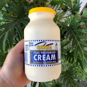 Cooloola Pure Pasteurised Cream 500ml - Rosalie Gourmet Market