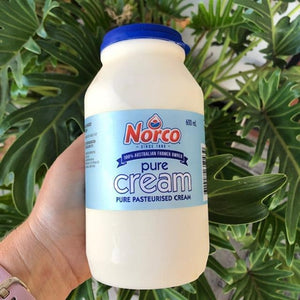 Norco Pure Pasteurised Cream 600ml - Rosalie Gourmet Market