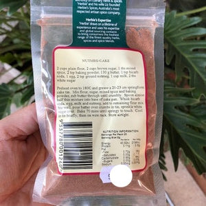 Herbies - Nutmeg (Ground) 50g - Rosalie Gourmet Market