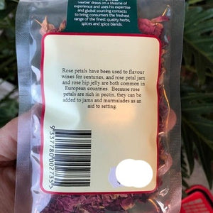 Herbies - Rose Petals (Grown without Chemicals) 5g - Rosalie Gourmet Market