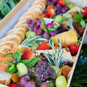 Gourmet cheese and fruit platter - Rosalie Gourmet Market