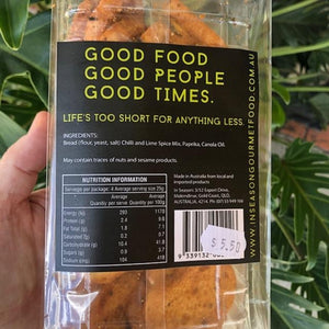In Season - Chilli & Lime Baby Baguettes 100g - Rosalie Gourmet Market
