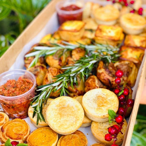 Mixed Warm Canape Box - Rosalie Gourmet Market