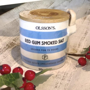 Salt - Red Gum Smoked Salt Pot - Olsson's - Rosalie Gourmet Market