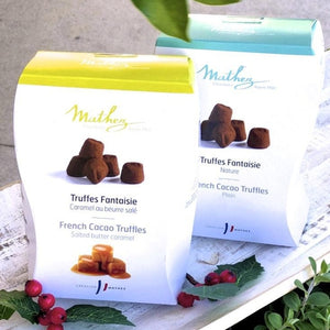 Mathez French Cacoa Truffles - Salted Butter Caramel