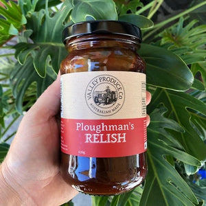 Valley Produce Co Ploughman's Relish 420g - Rosalie Gourmet Market