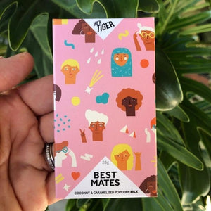 Hey Tiger - Best Mates (Coconut & Caramelised Popcorn Milk) - 28g - Rosalie Gourmet Market