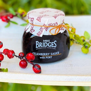 Cranberry & Port Sauce - Mrs Bridges 250g - Rosalie Gourmet Market