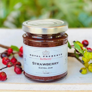Strawberry Extra Jam - Royal Preserve - Belberry 215g - Rosalie Gourmet Market
