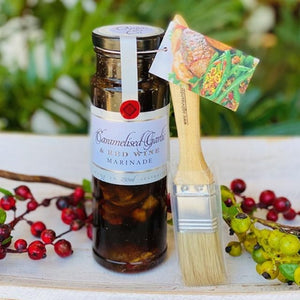 Caramelised Garlic & Red Wine Marinade - Ogilvie & Co 250ml - Rosalie Gourmet Market