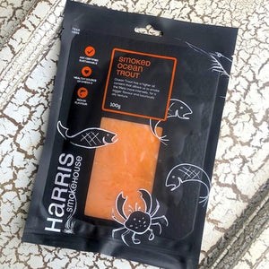 Harris Smokehouse Cold Smoked Ocean Trout 100g