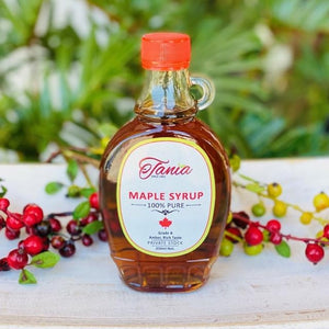 Maple Syrup 100% Pure - Tania 250ml net - Rosalie Gourmet Market