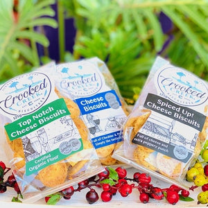 Crooked Creek Biscuits - Cheese Biscuits - 180g (new larger pack) - Rosalie Gourmet Market