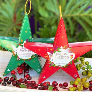 English Tea Shop - Red Star - Premium Holiday Collection Organic tea bags - Rosalie Gourmet Market