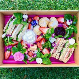 High Tea Box for 2 - Vegetarian - Rosalie Gourmet Market
