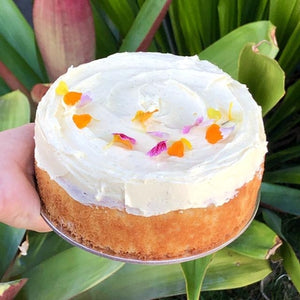 Lemon Yoghurt Cake with Cream Cheese Frosting (15cm, gift boxed) - Rosalie Gourmet Market